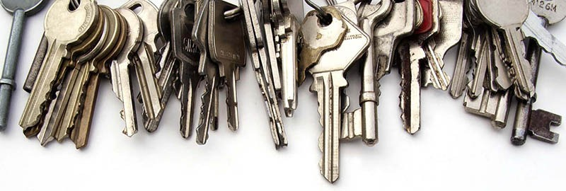 A Huntsville Locksmith's key collection