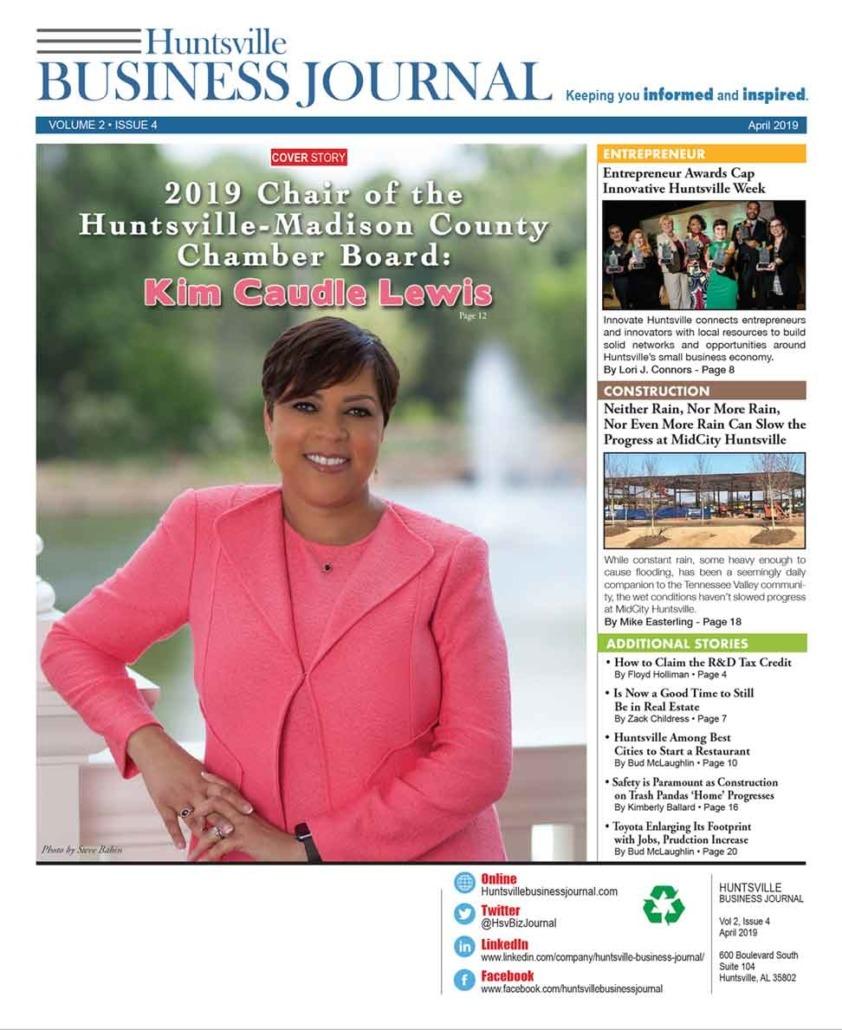 Huntsville business journal April issue