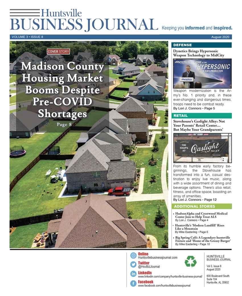 August 2020   Huntsville Business Journal